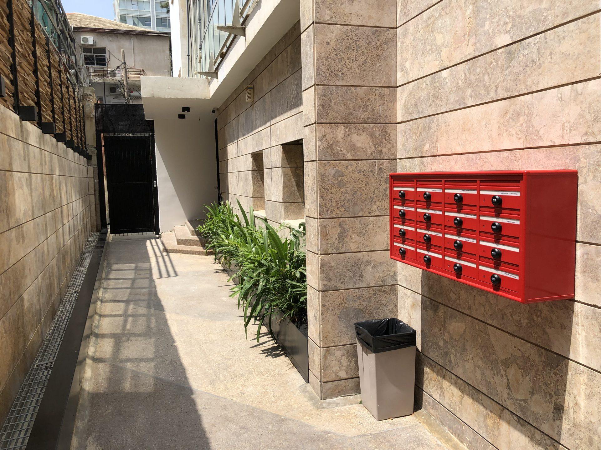 מרתף קומה 2- בבניין הייטק מודרני
